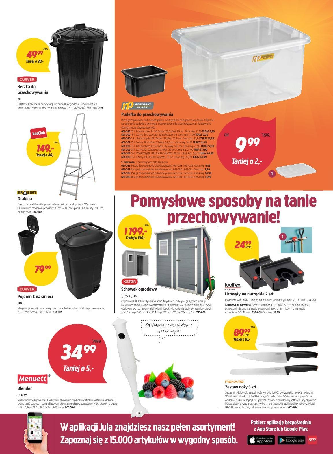 Gazetka promocyjna Jula do 24/10/2018 str.4