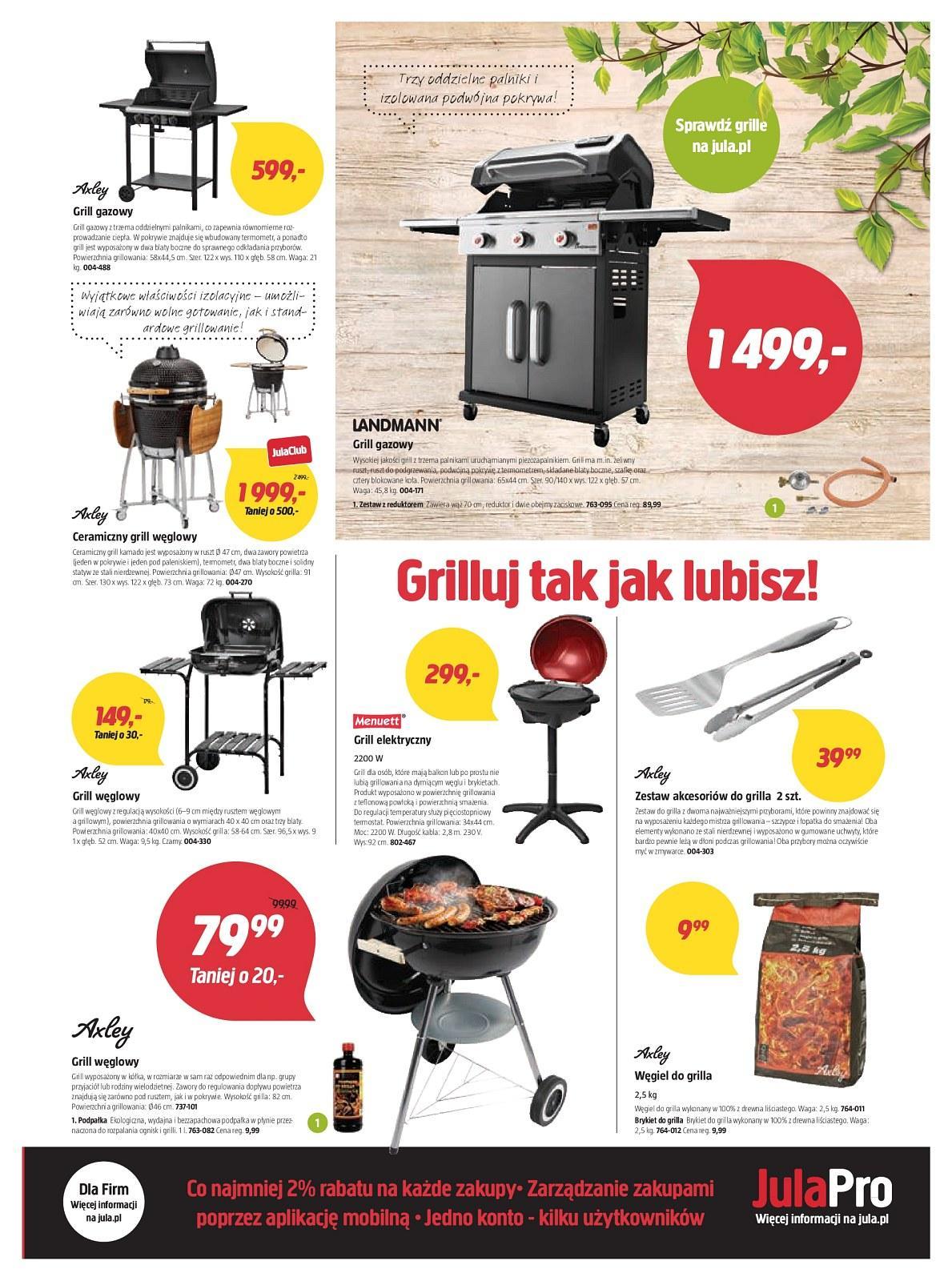 Gazetka promocyjna Jula do 06/05/2018 str.2