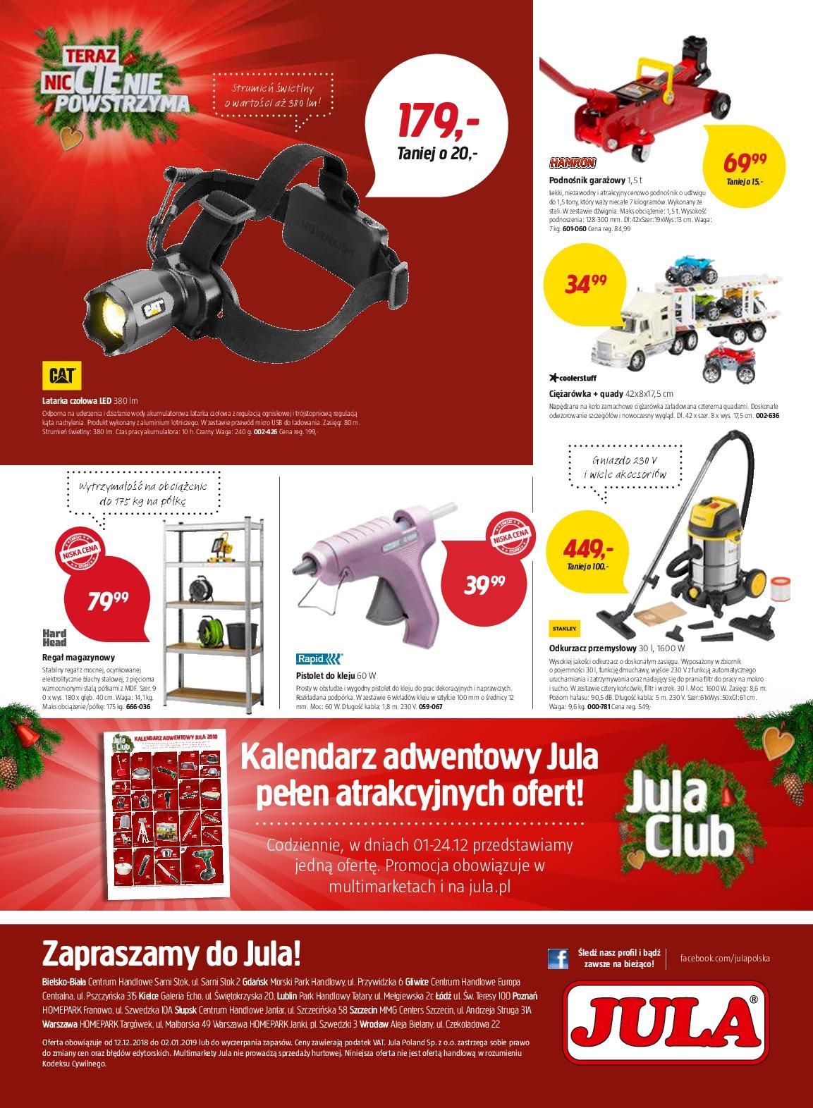Gazetka promocyjna Jula do 02/01/2019 str.8
