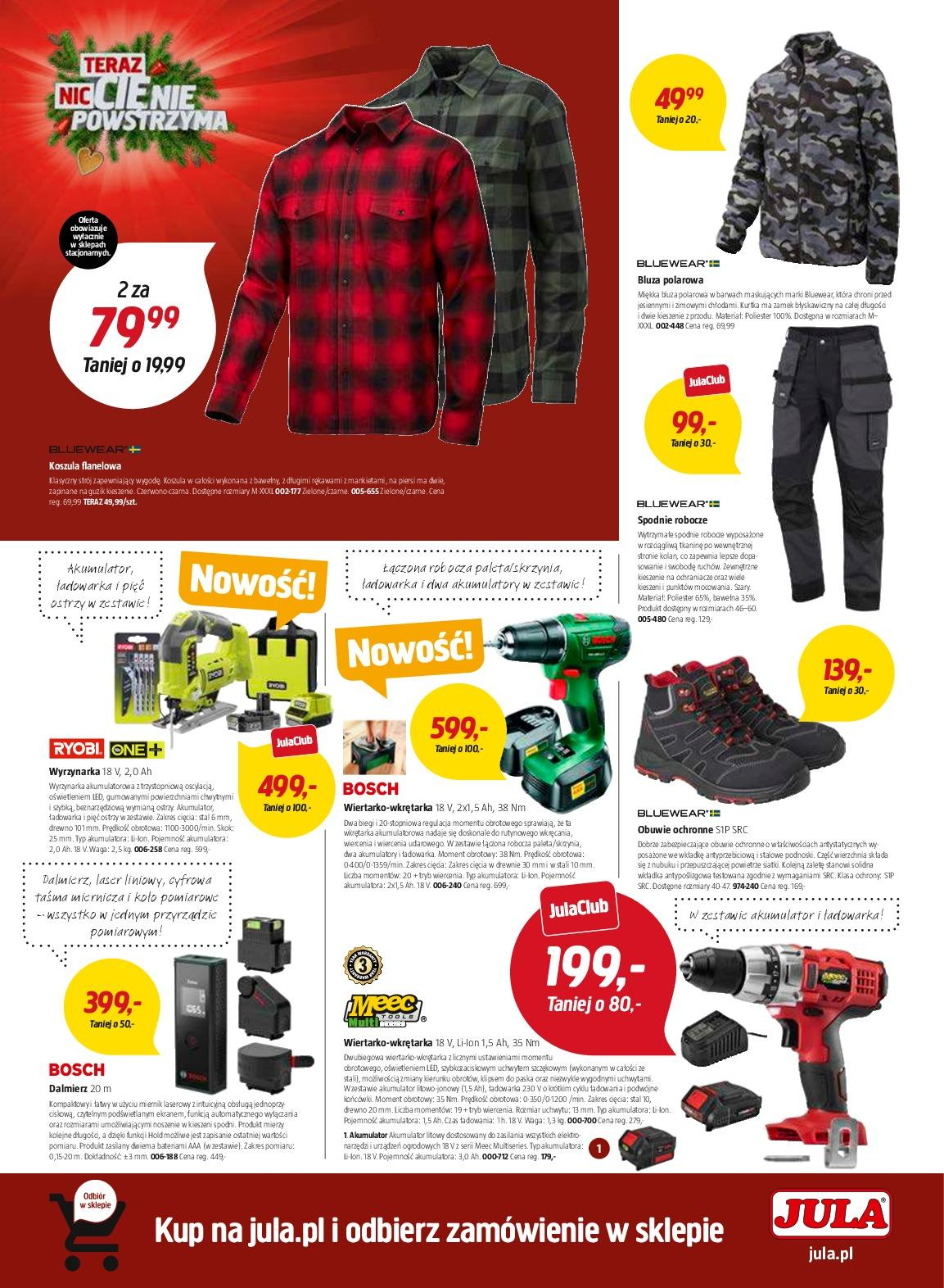 Gazetka promocyjna Jula do 02/01/2019 str.4