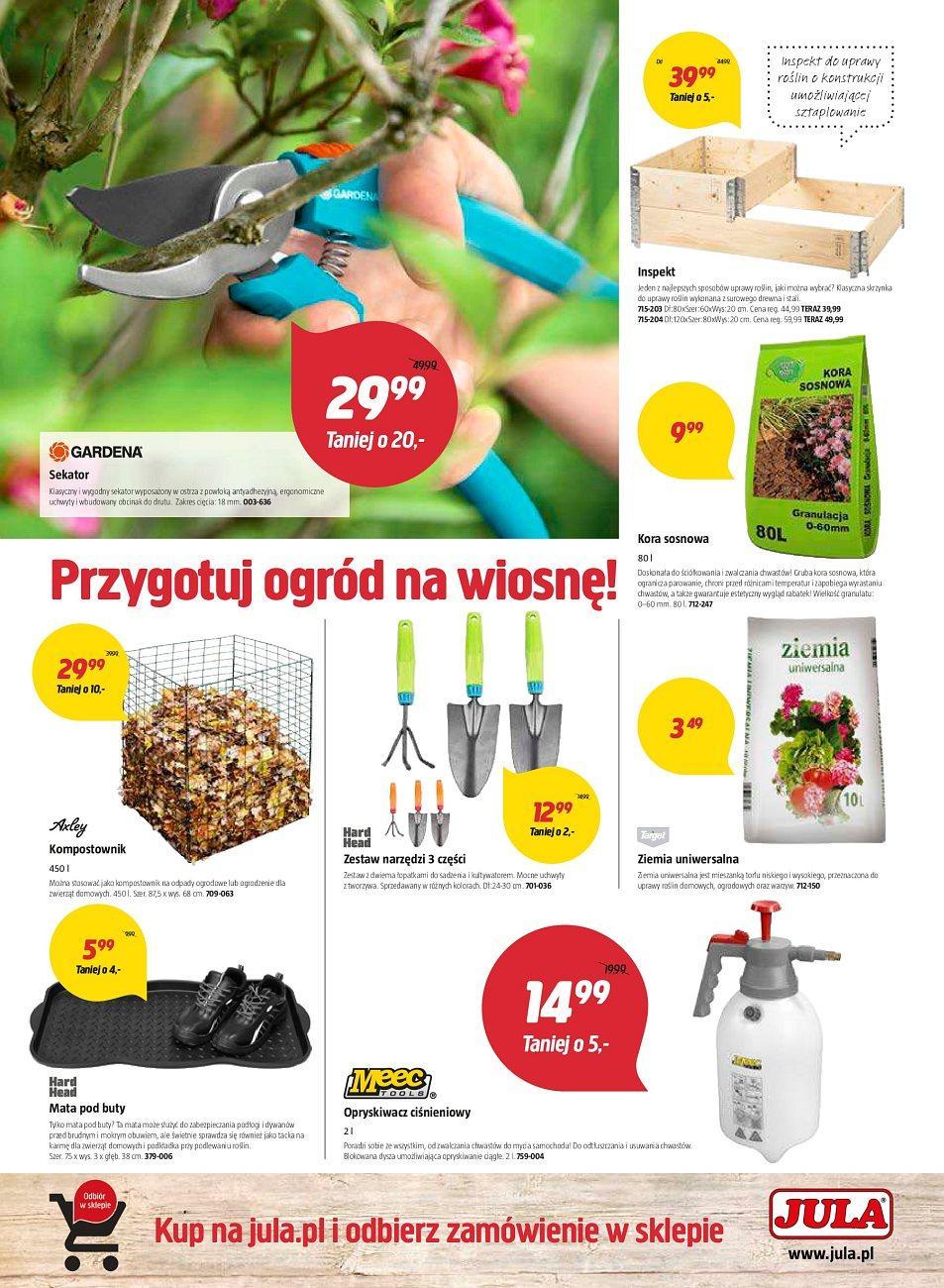 Gazetka promocyjna Jula do 21/03/2018 str.3