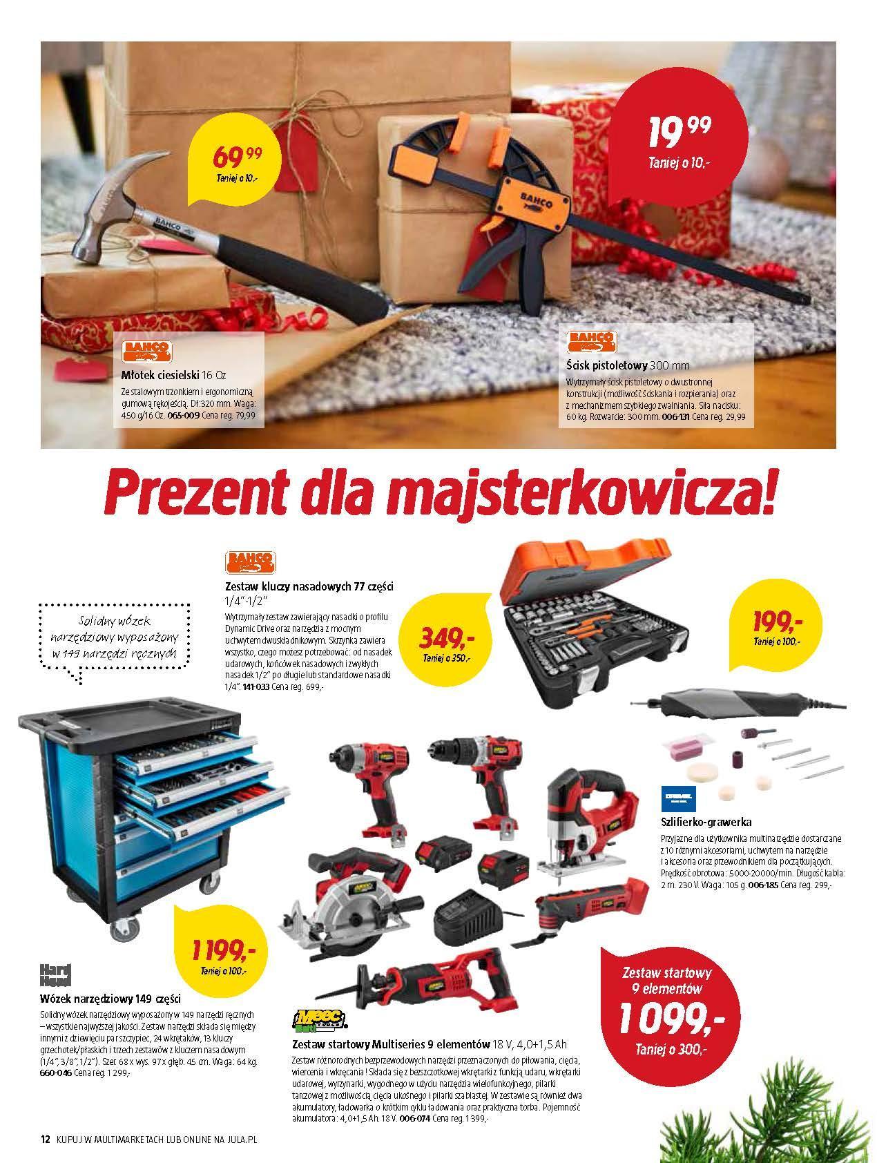 Gazetka promocyjna Jula do 02/01/2019 str.12