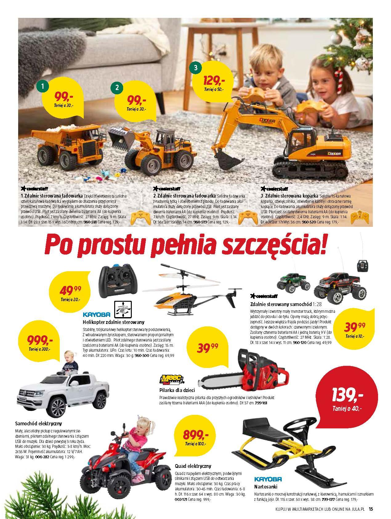 Gazetka promocyjna Jula do 02/01/2019 str.15
