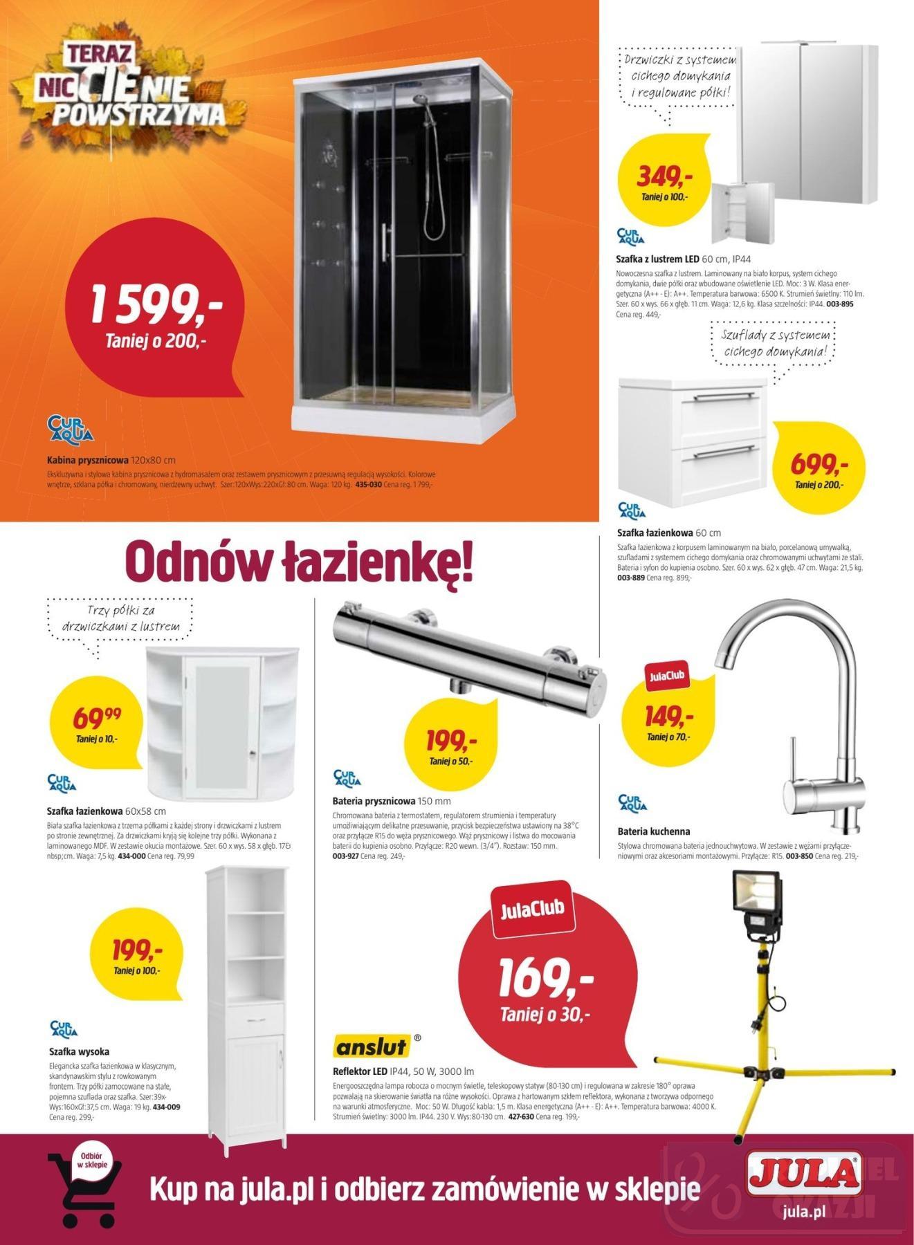 Gazetka promocyjna Jula do 07/11/2018 str.4