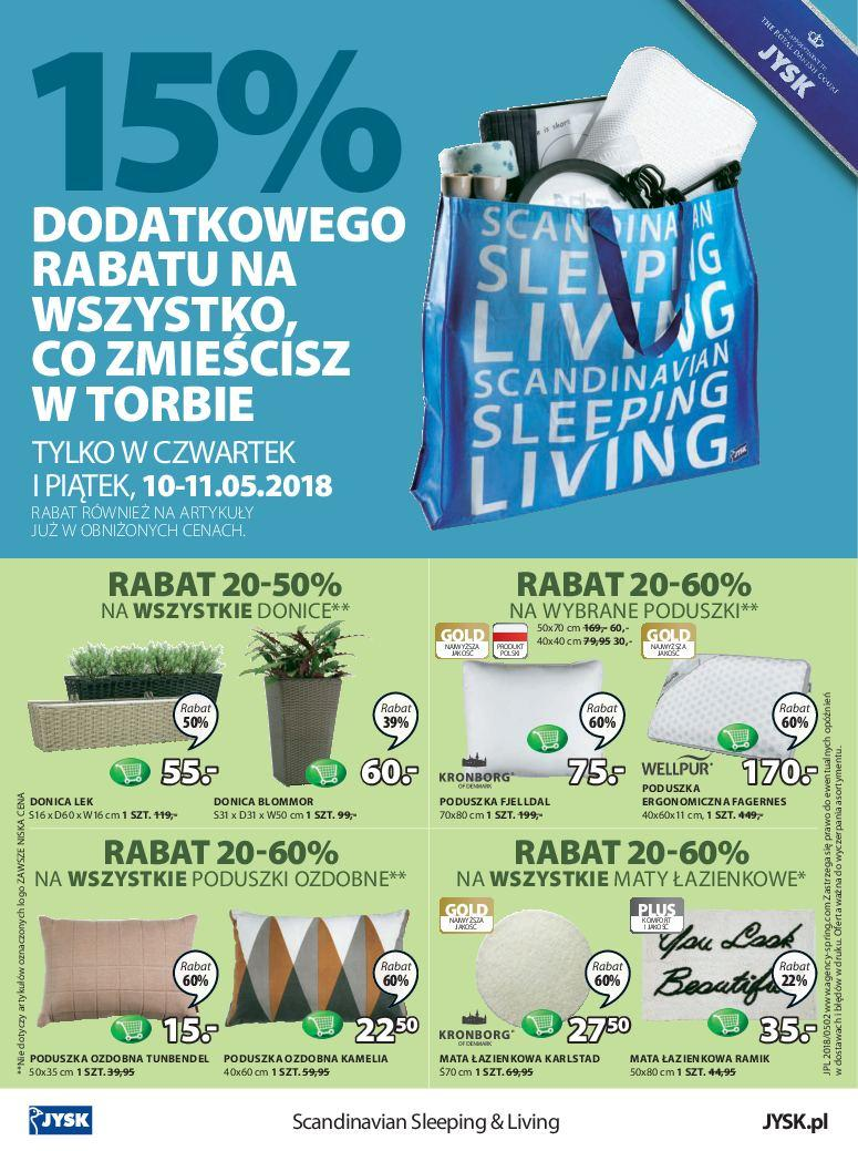 Gazetka promocyjna Jysk do 23/05/2018 str.23
