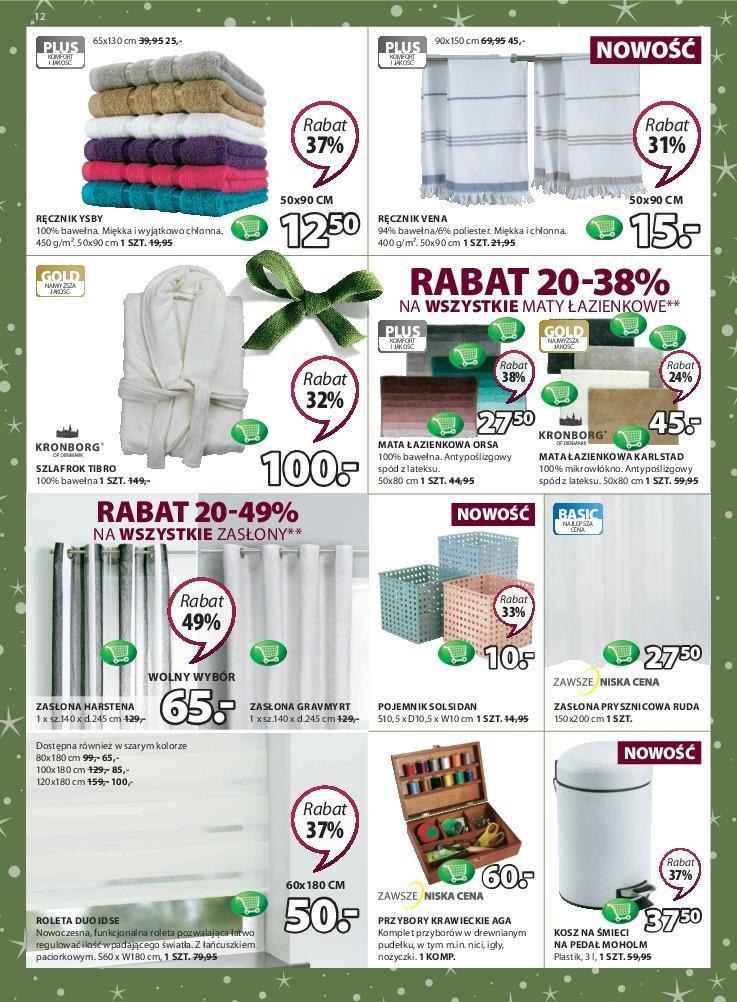 Gazetka promocyjna Jysk do 21/11/2018 str.12
