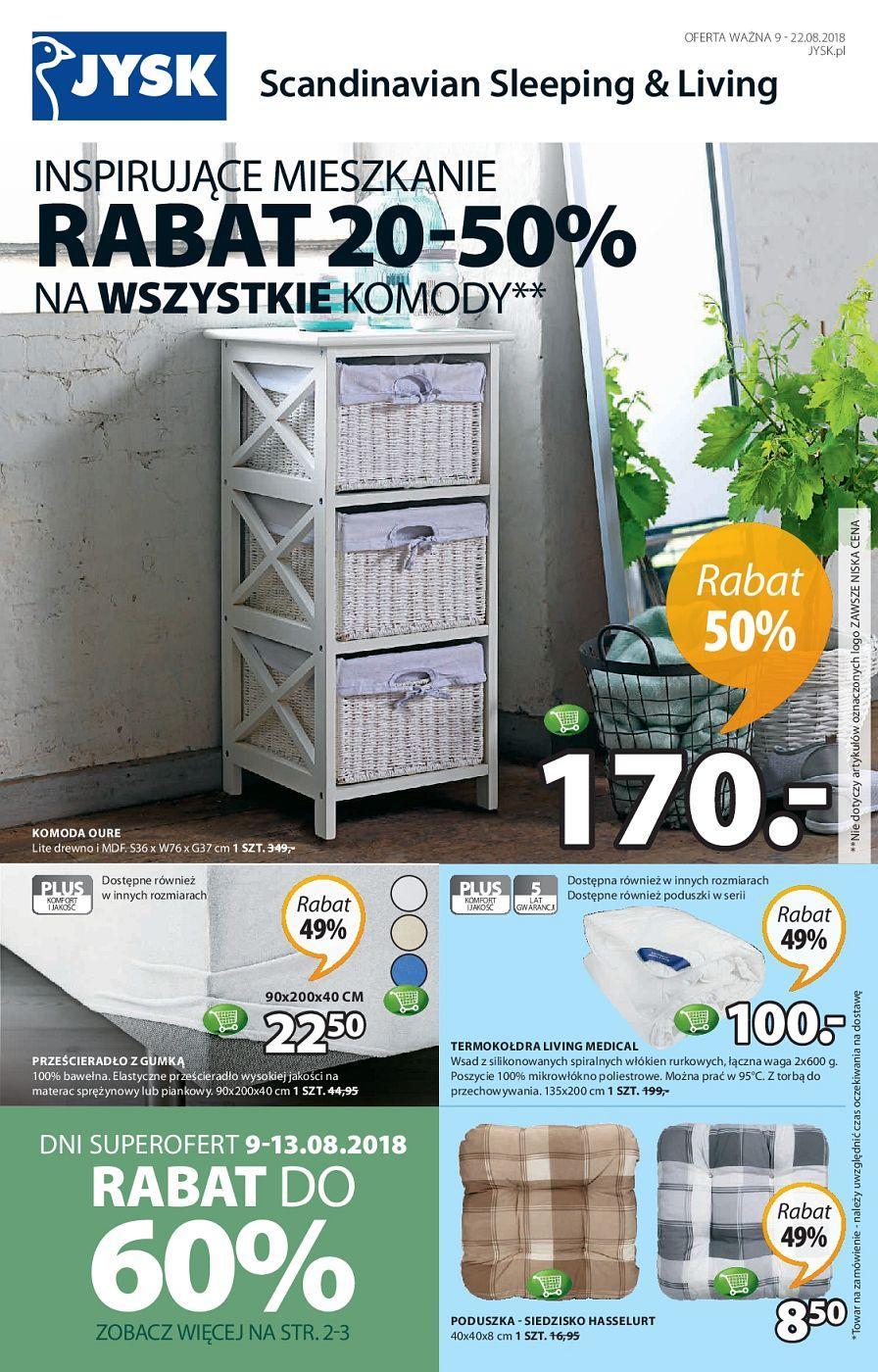 Gazetka promocyjna Jysk do 22/08/2018 str.0