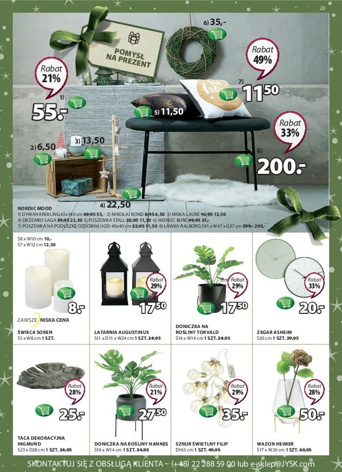 Gazetka promocyjna Jysk do 28/11/2018 str.23