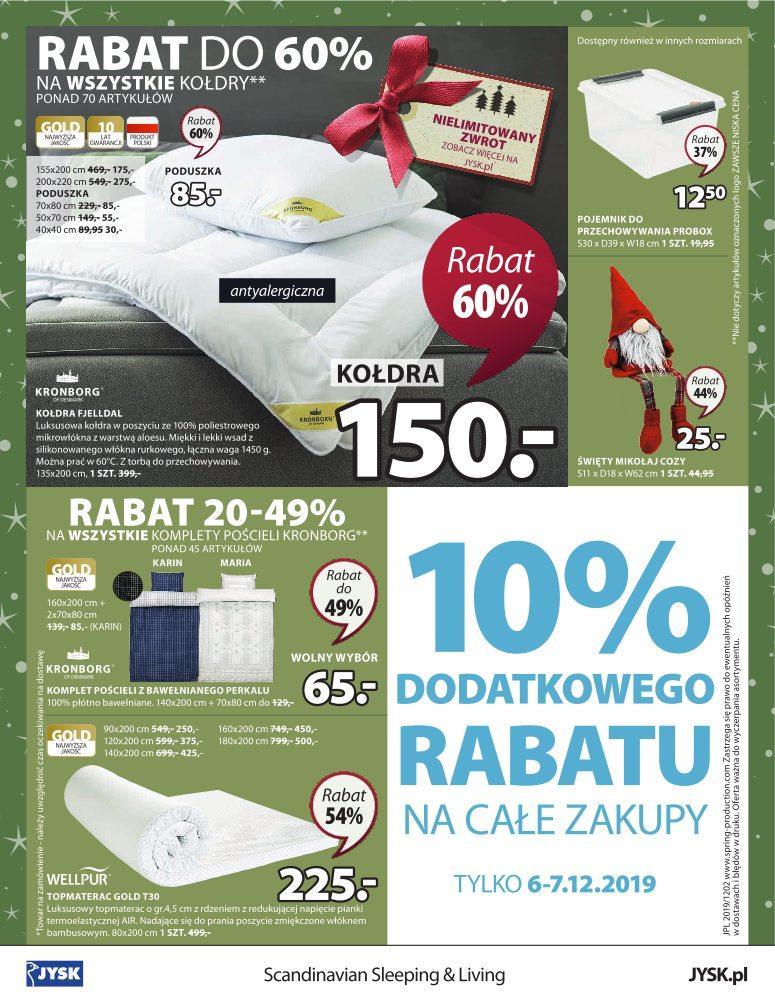 Gazetka promocyjna Jysk do 18/12/2019 str.24