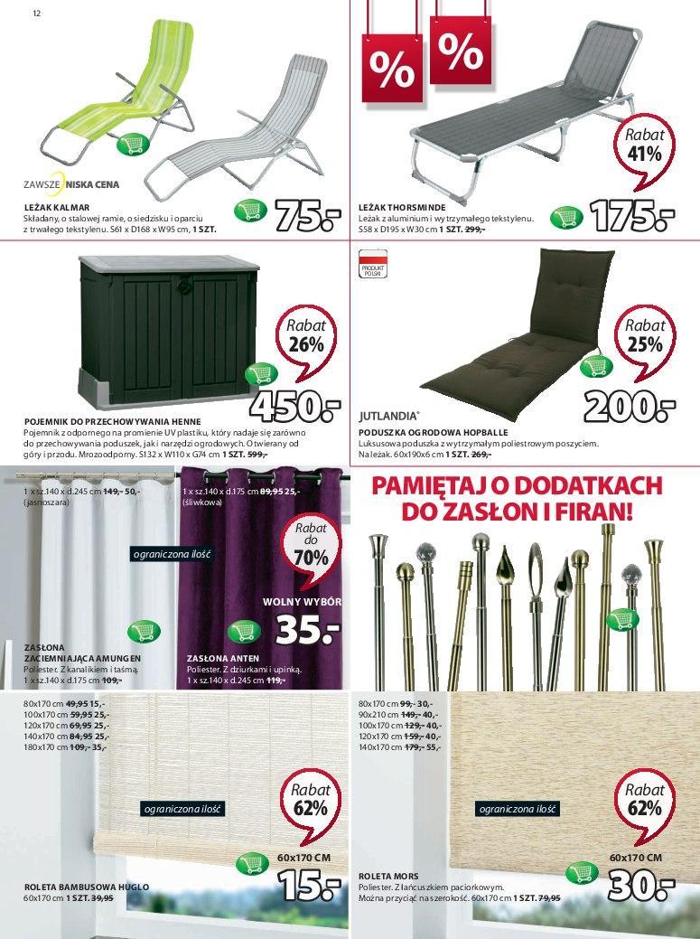 Gazetka promocyjna Jysk do 27/06/2018 str.12