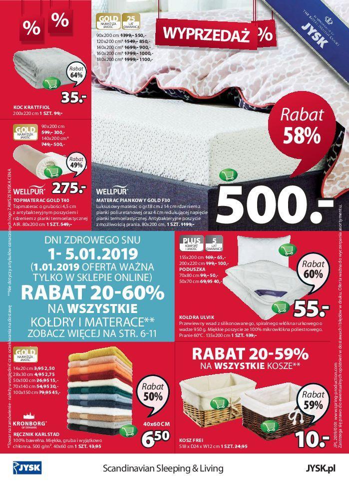 Gazetka promocyjna Jysk do 16/01/2019 str.24
