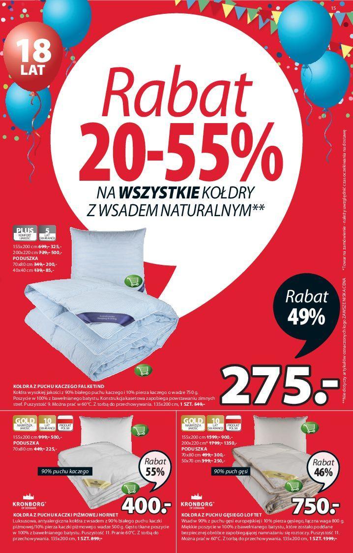 Gazetka promocyjna Jysk do 05/09/2018 str.14