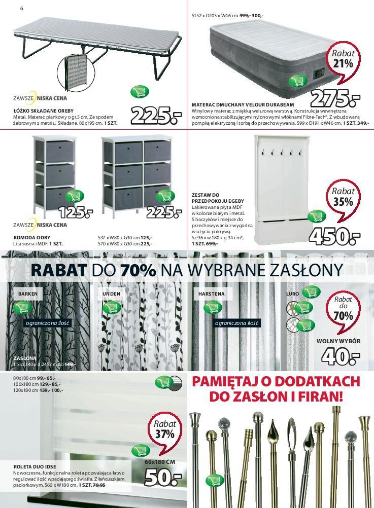 Gazetka promocyjna Jysk do 23/01/2019 str.6