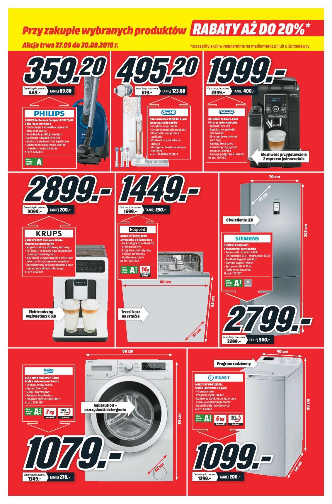 Gazetka promocyjna Media Markt do 30/09/2018 str.6
