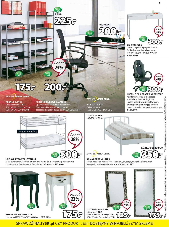 Gazetka promocyjna Jysk do 25/07/2018 str.7