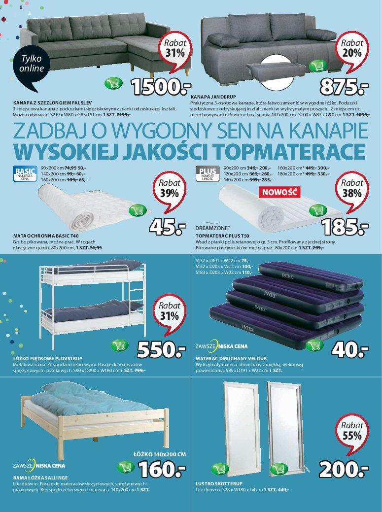 Gazetka promocyjna Jysk do 12/09/2018 str.8
