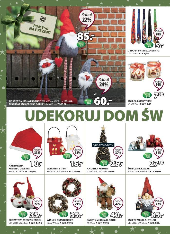 Gazetka promocyjna Jysk do 28/11/2018 str.2