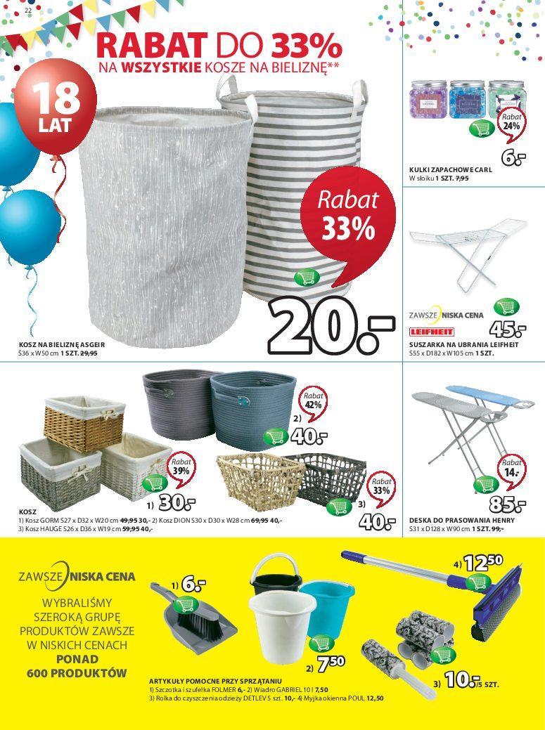 Gazetka promocyjna Jysk do 12/09/2018 str.22