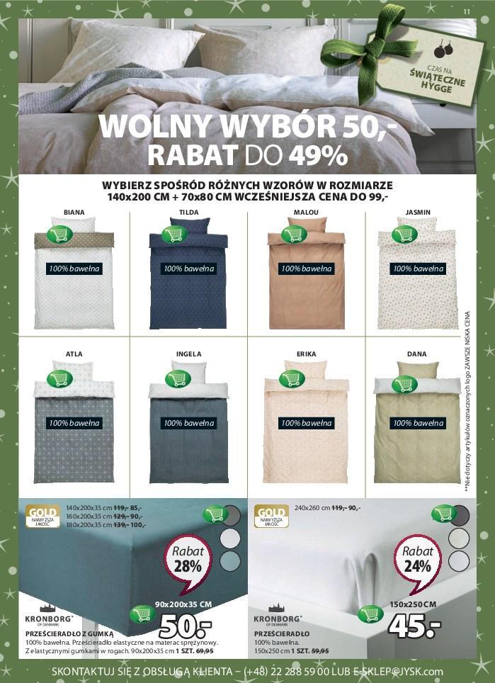 Gazetka promocyjna Jysk do 12/12/2018 str.11