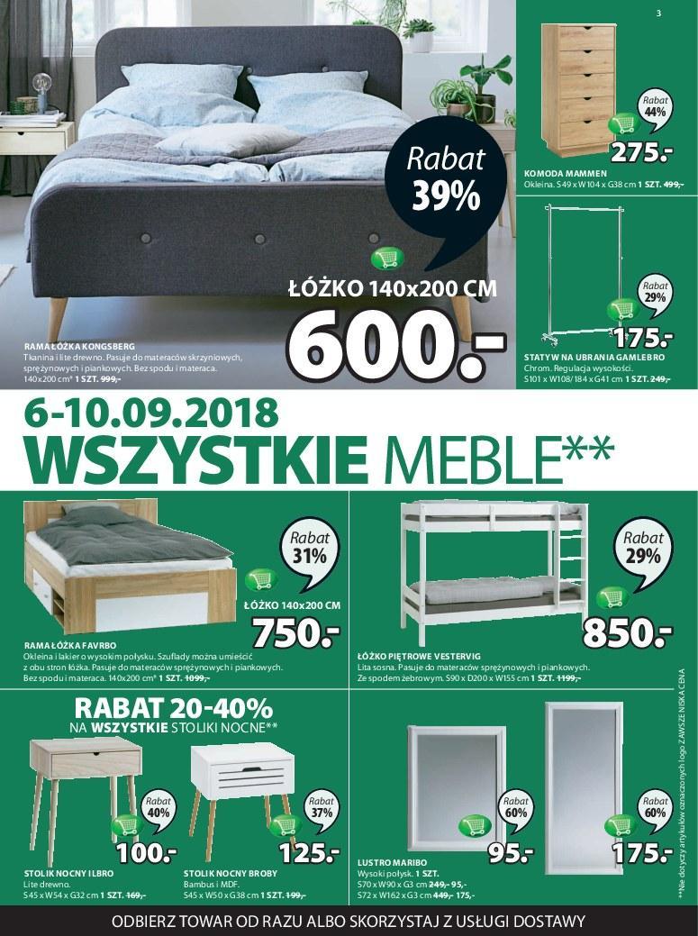 Gazetka promocyjna Jysk do 19/09/2018 str.3