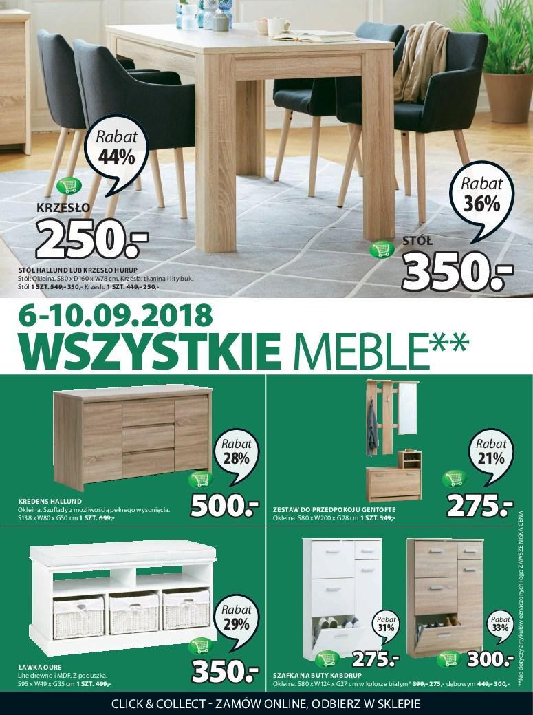 Gazetka promocyjna Jysk do 19/09/2018 str.7