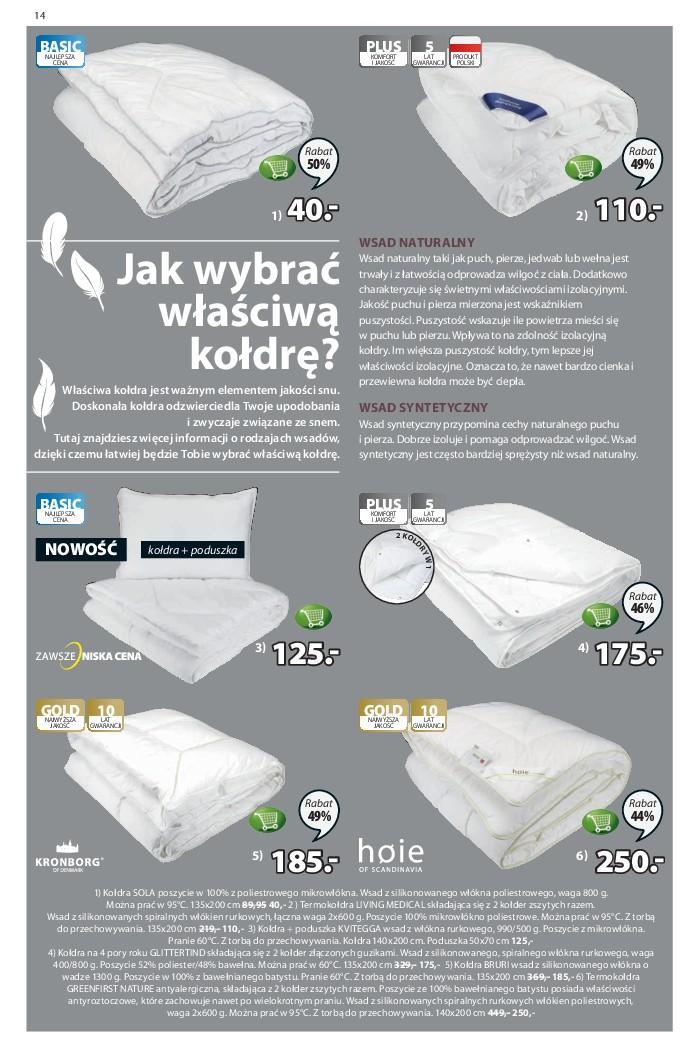 Gazetka promocyjna Jysk do 10/10/2018 str.14
