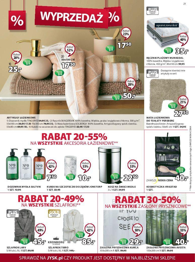 Gazetka promocyjna Jysk do 27/06/2018 str.20