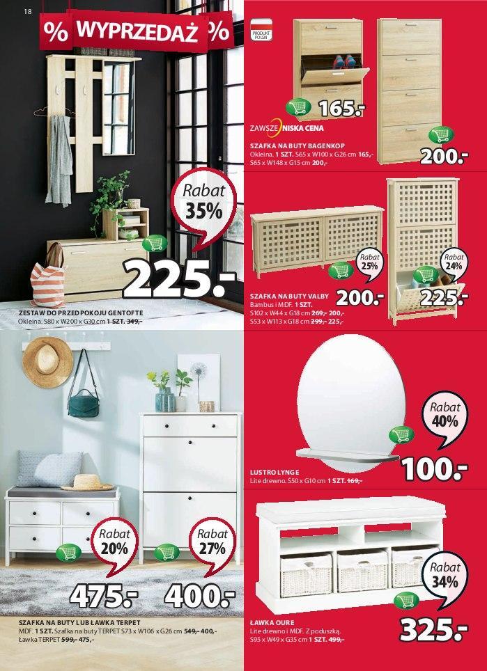Gazetka promocyjna Jysk do 16/01/2019 str.18