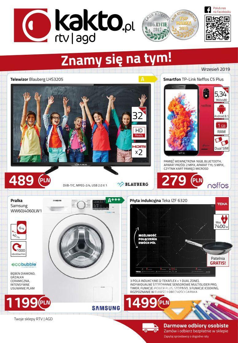 Gazetka promocyjna Kakto.pl do 30/09/2019 str.0