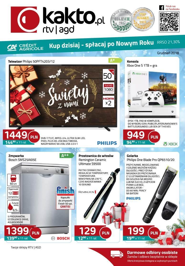 Gazetka promocyjna Kakto.pl do 31/12/2018 str.0