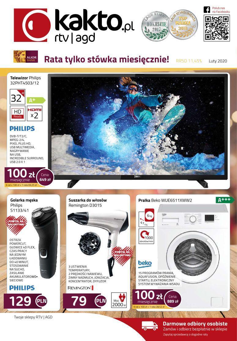 Gazetka promocyjna Kakto.pl do 29/02/2020 str.0