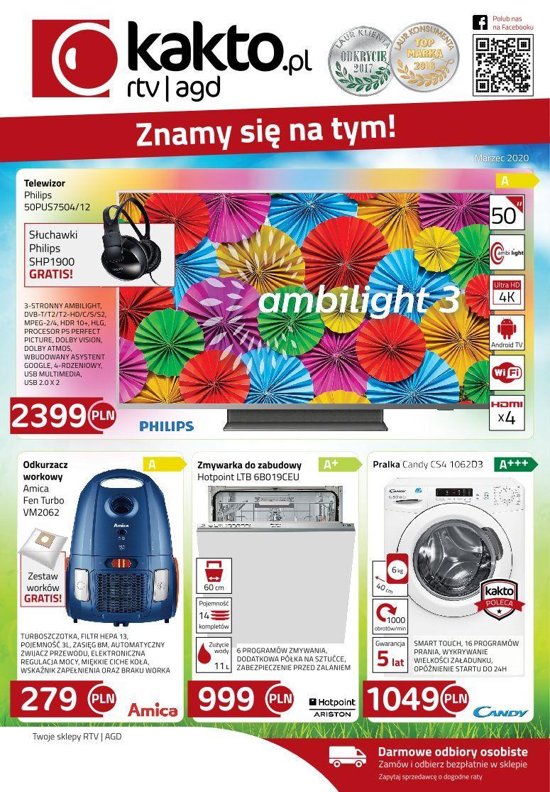 Gazetka promocyjna Kakto.pl do 31/03/2020 str.0