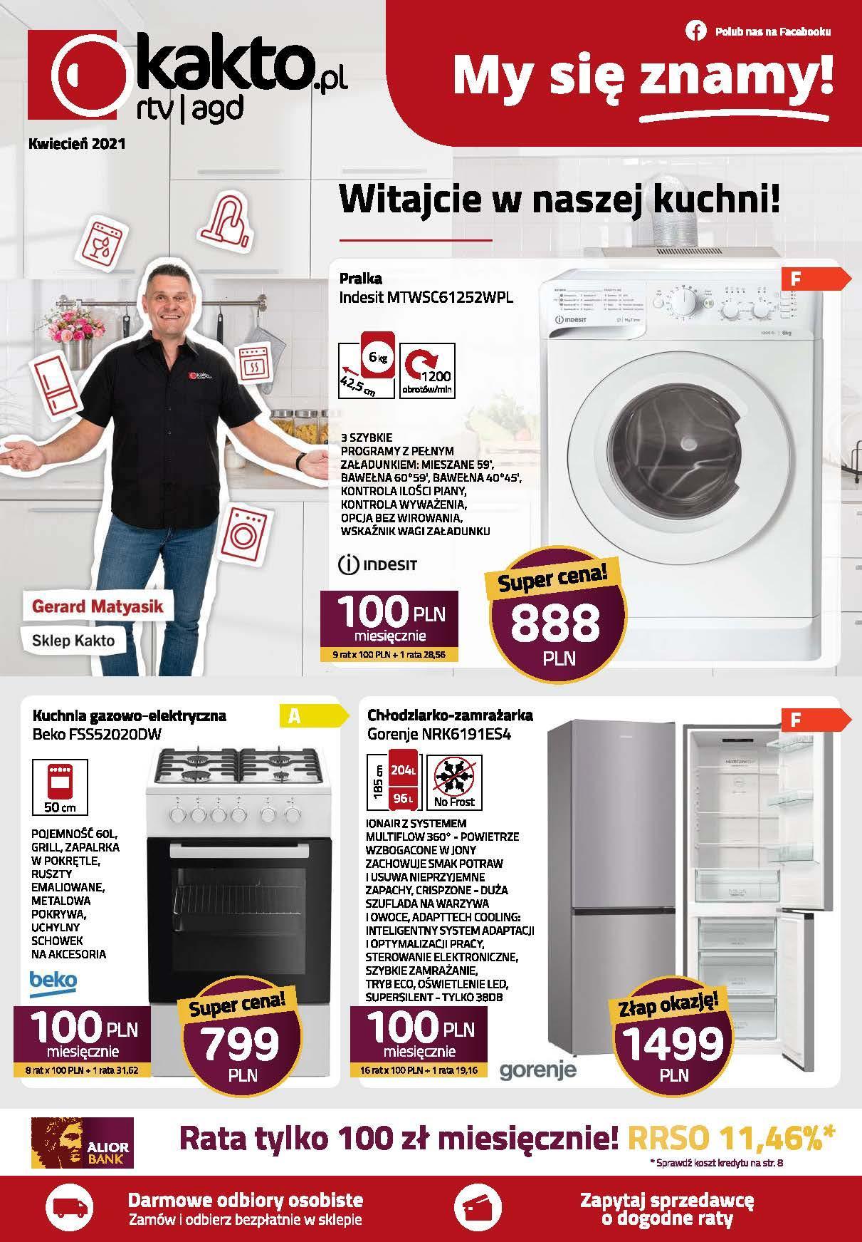 Gazetka promocyjna Kakto.pl do 30/04/2021 str.1