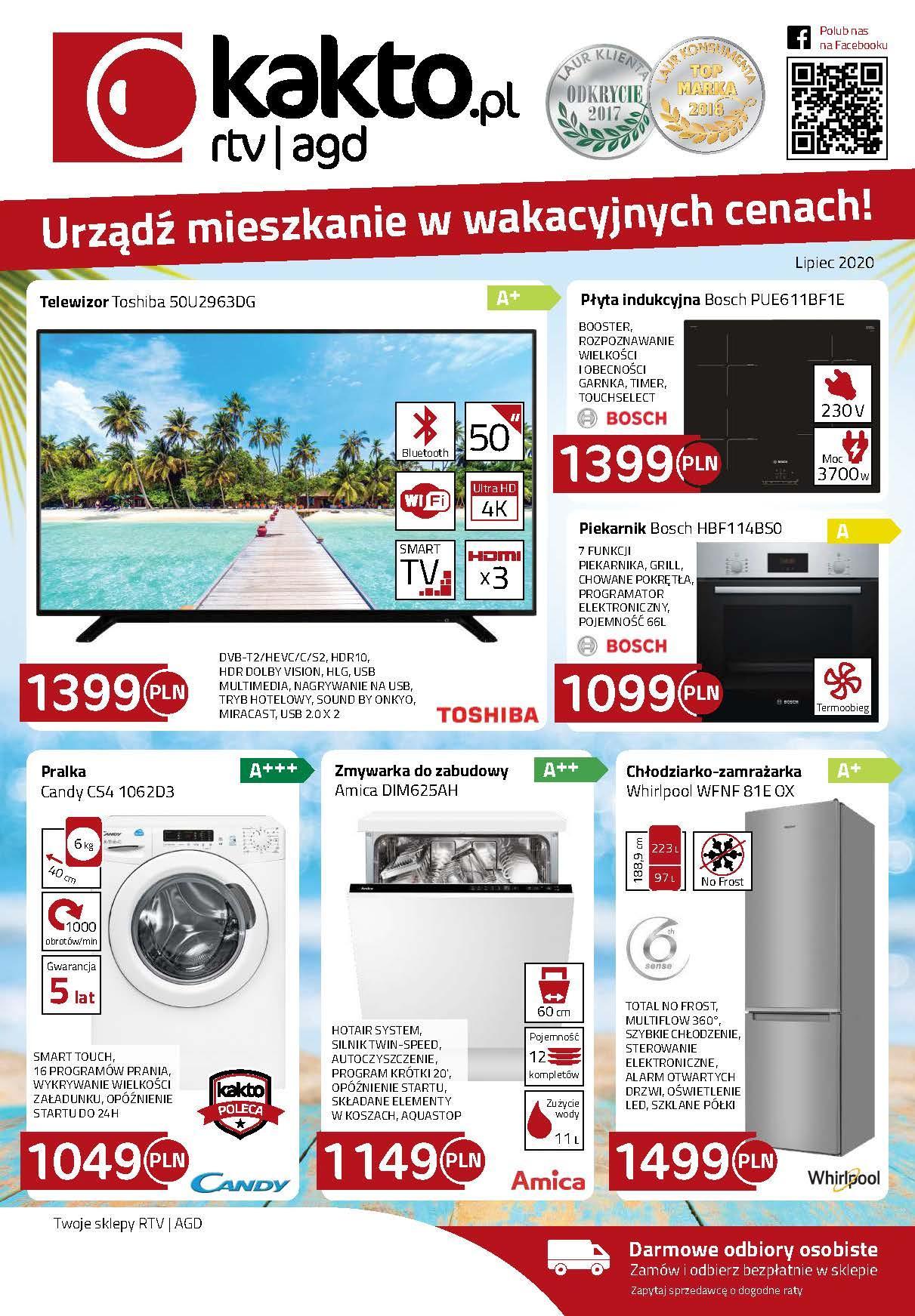 Gazetka promocyjna Kakto.pl do 31/07/2020 str.0