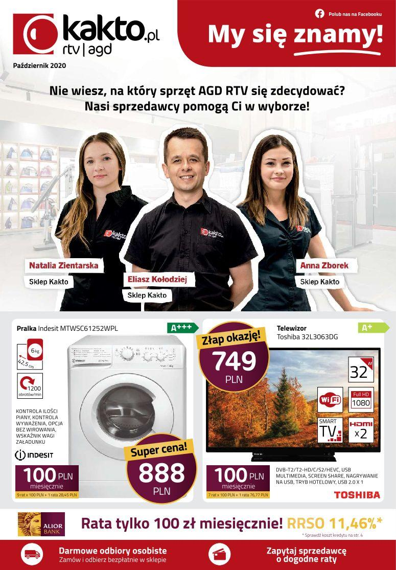 Gazetka promocyjna Kakto.pl do 31/10/2020 str.0
