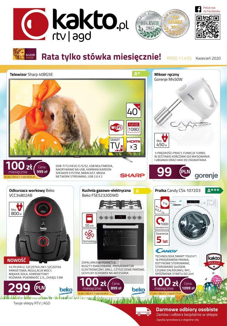 Gazetka promocyjna Kakto.pl do 30/04/2020 str.0