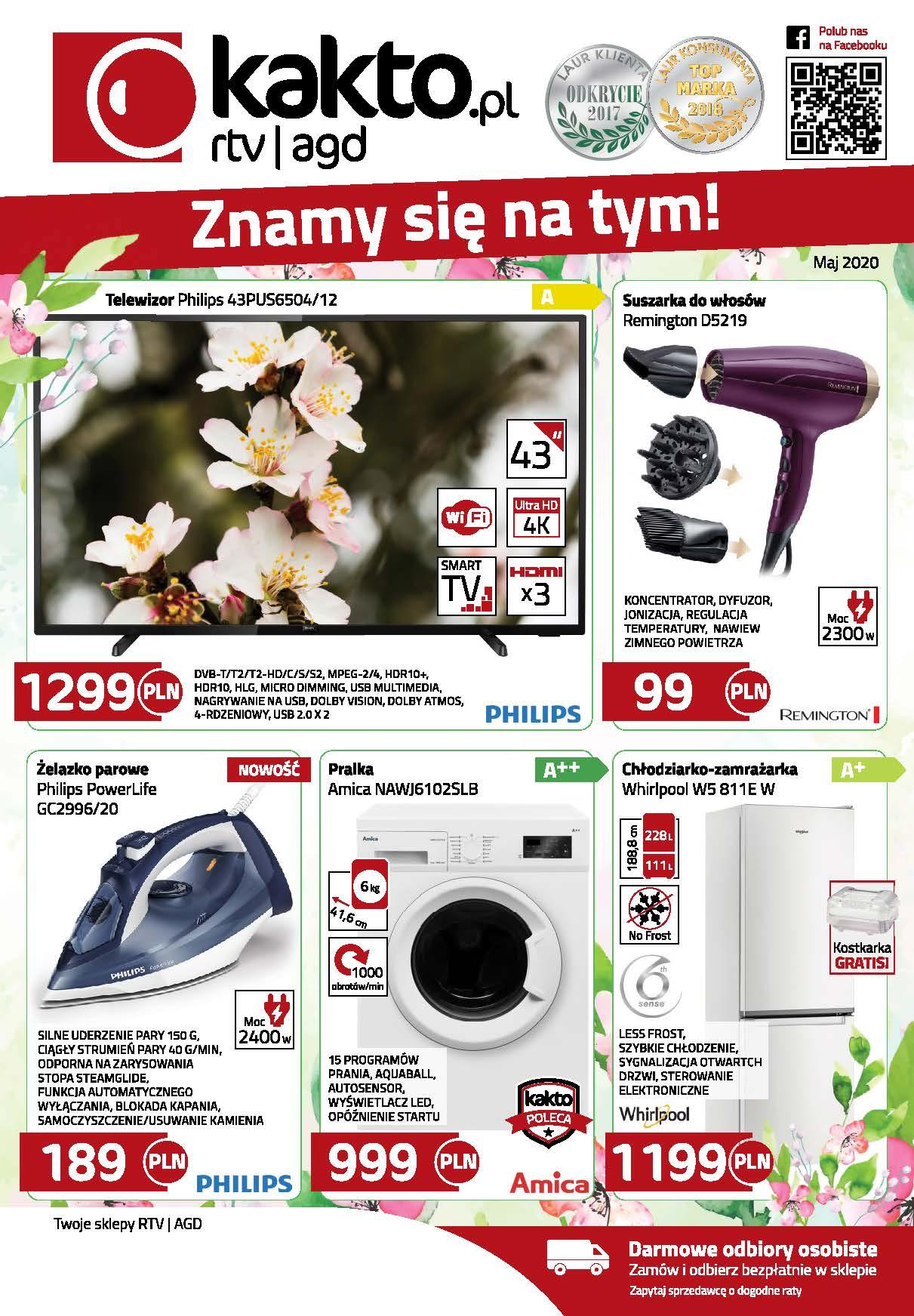 Gazetka promocyjna Kakto.pl do 31/05/2020 str.0