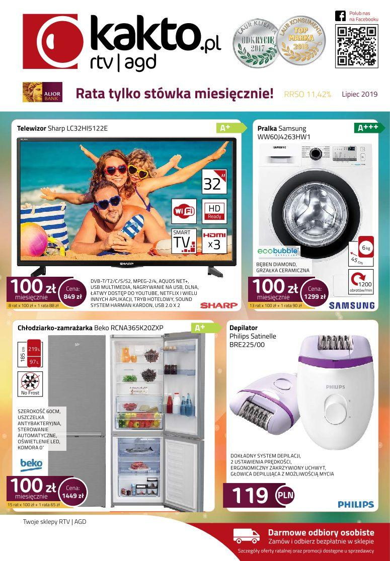 Gazetka promocyjna Kakto.pl do 31/07/2019 str.0