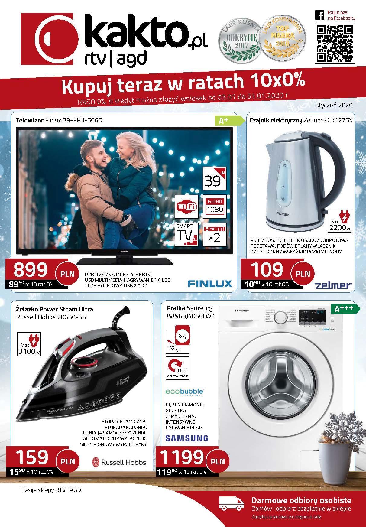 Gazetka promocyjna Kakto.pl do 31/01/2020 str.0