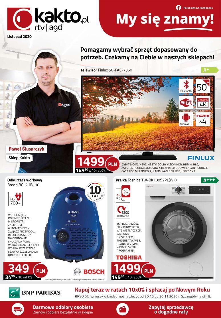 Gazetka promocyjna Kakto.pl do 30/11/2020 str.0