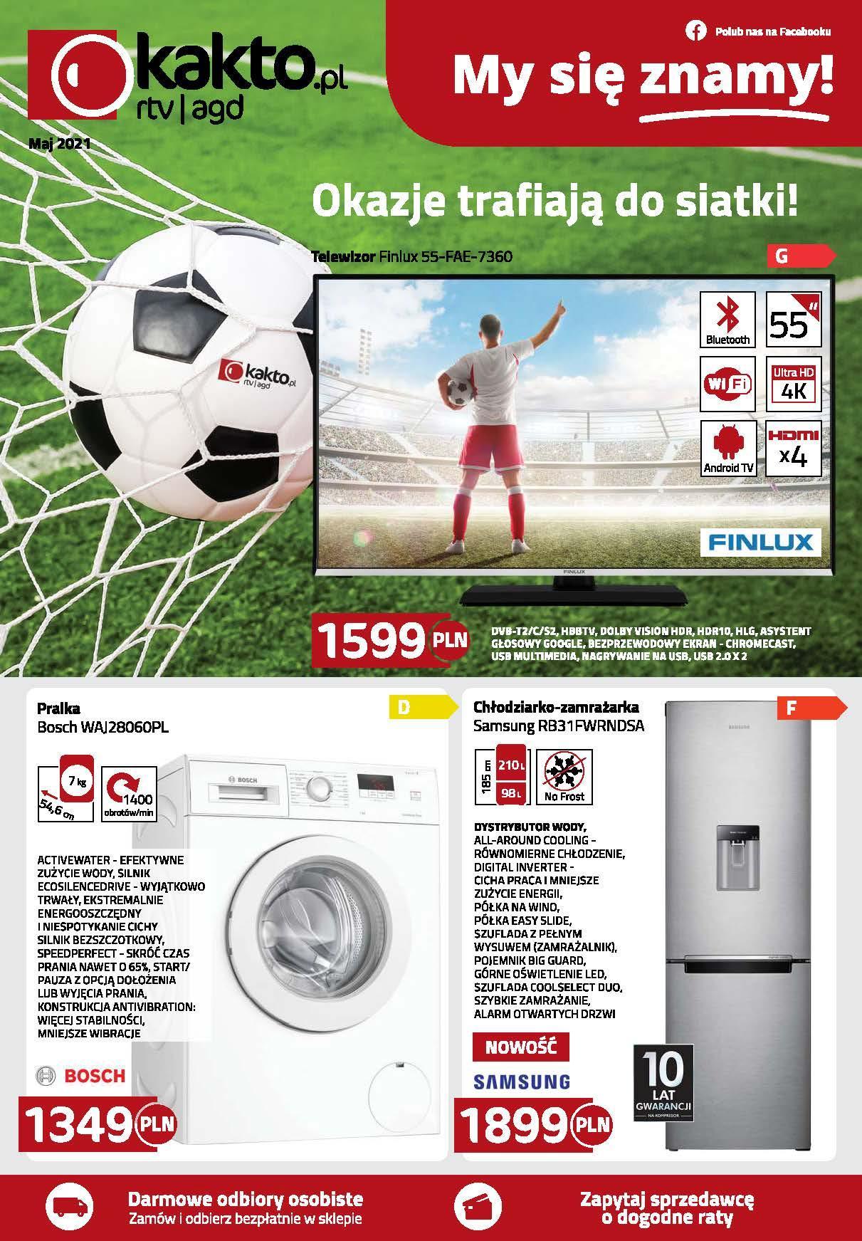 Gazetka promocyjna Kakto.pl do 31/05/2021 str.1