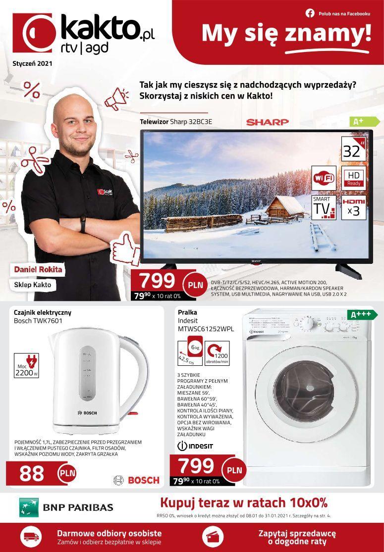 Gazetka promocyjna Kakto.pl do 31/01/2021 str.0