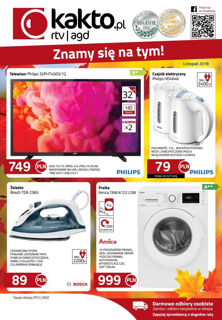 Gazetka promocyjna Kakto.pl do 30/11/2018 str.0