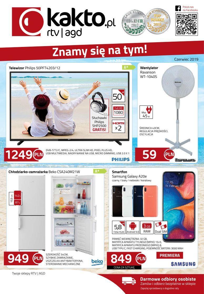 Gazetka promocyjna Kakto.pl do 30/06/2019 str.0