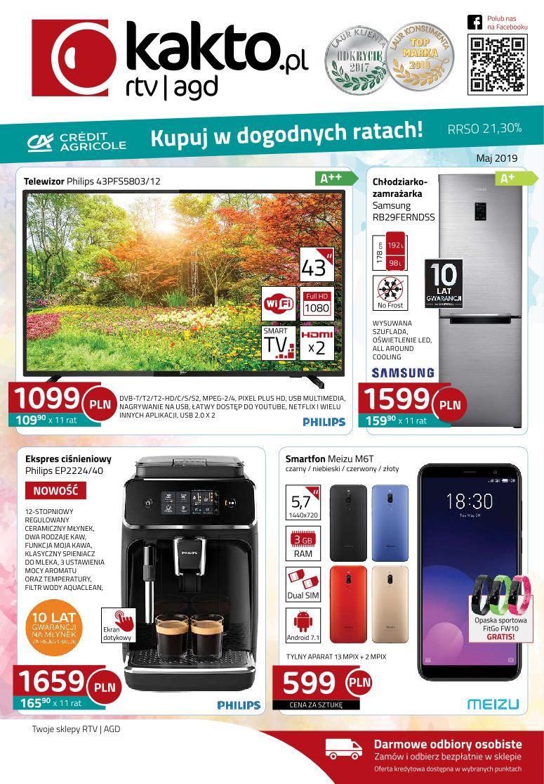 Gazetka promocyjna Kakto.pl do 31/05/2019 str.0