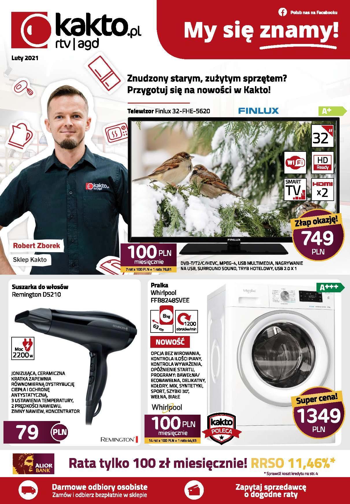 Gazetka promocyjna Kakto.pl do 28/02/2021 str.0