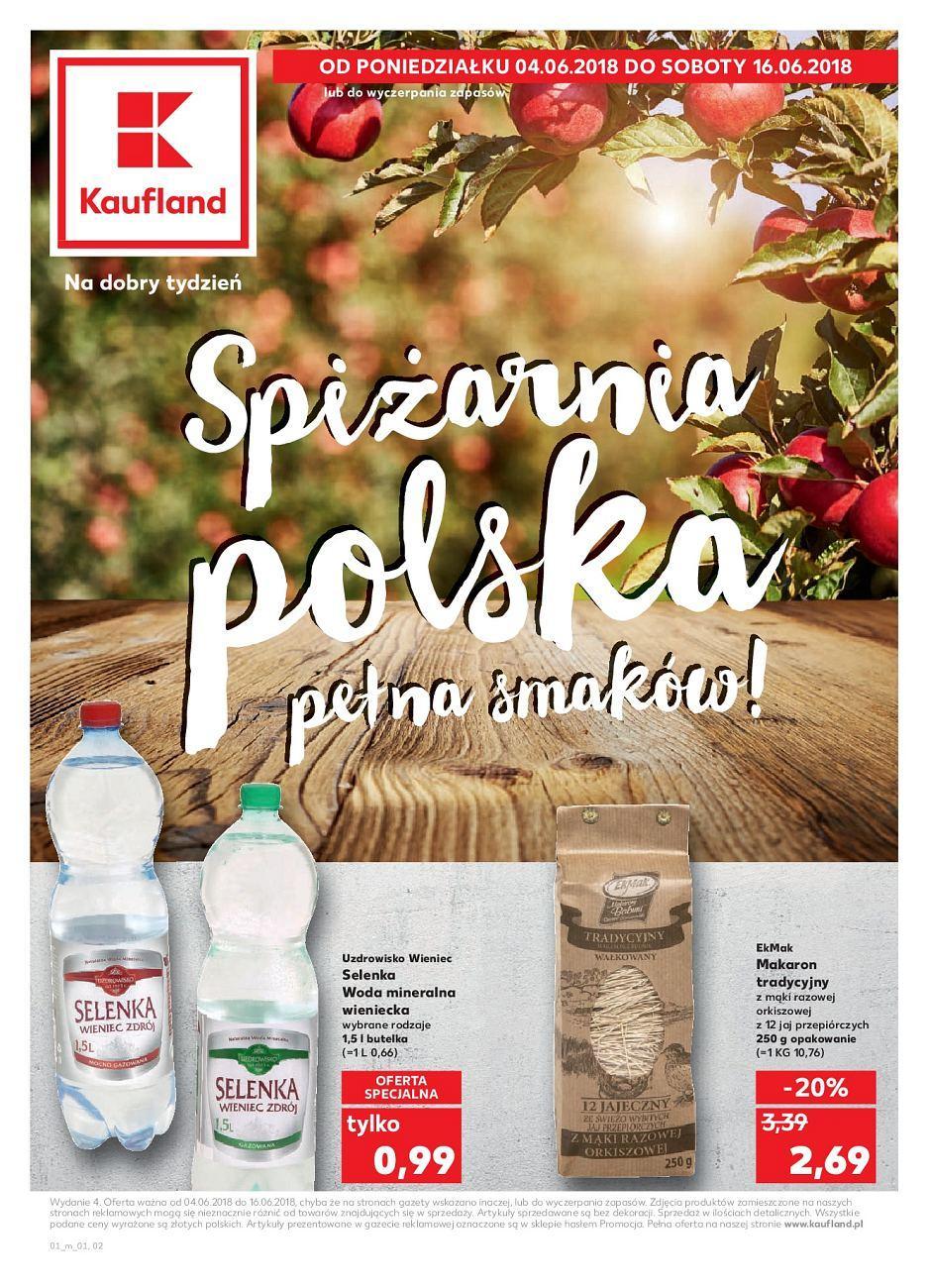 Gazetka promocyjna Kaufland do 16/06/2018 str.0