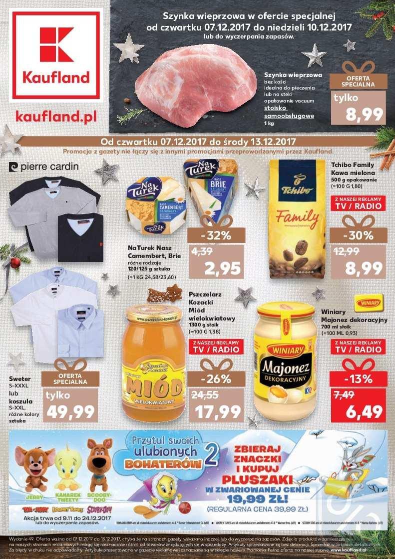 Gazetka promocyjna Kaufland do 13/12/2017 str.0