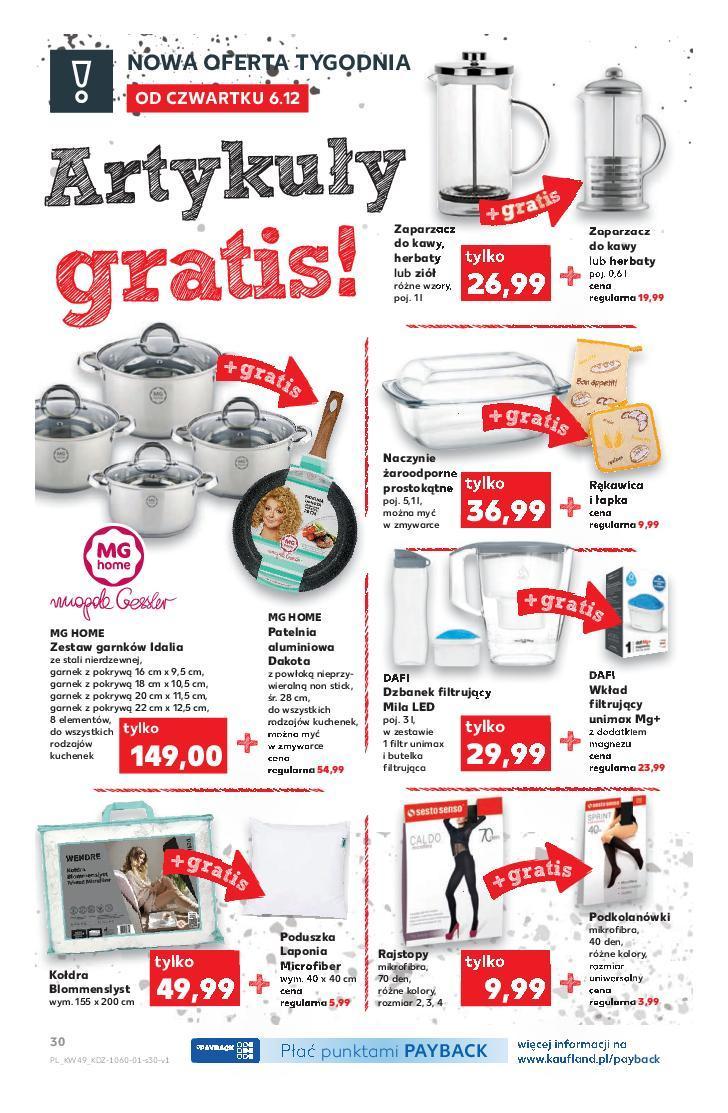 Gazetka promocyjna Kaufland do 12/12/2018 str.30