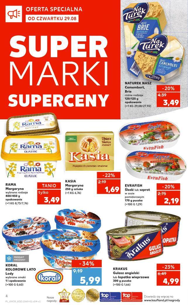 Gazetka promocyjna Kaufland do 04/09/2019 str.4